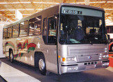 Carroceria Monterrey para o mercado mexicano, mostrada na Expobus '94 (fonte: site onibusnostalgia).