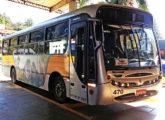 Apache Vip intermunicipal da empresa Coletivos Rainha, de São Bento do Sul (SC) (foto: Diego Lip / egonbus).