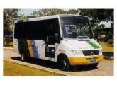 De 2002 é o miniônibus Bambino sobre Mercedes-Benz 412D.