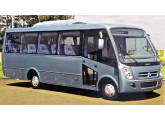 Em 2005 a Caio agregou o modelo Foz (aqui na versão Executiva) à sua linha de micro-ônibus.