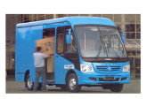 O furgão para cargas urbanas da Caio recebeu o estilo do mini Atilis.