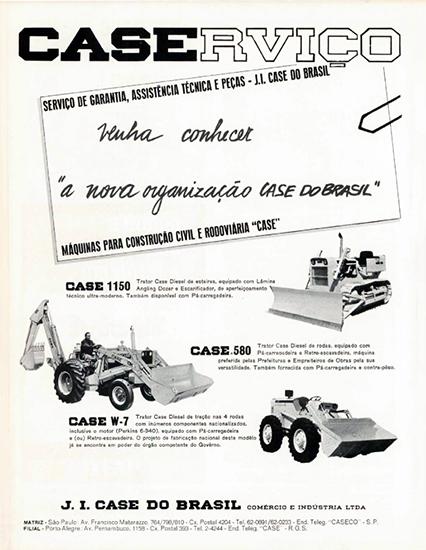 Case lexicar brasil propaganda da case de janeiro de 1968 mostrando a p w 7 montada pela mestra com inmeros componentes nacionalizados fandeluxe Choice Image