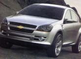 O XXII Salão do Automóvel exibiu o protótipo Chevrolet Journey, desenvolvido sobre a plataforma do recém-lançado Meriva.