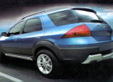 O SUV Prisma Y foi o carro-conceito GM do Salão de 2006.