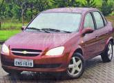 Chevrolet Classic 2010, idêntico ao chinês Sail (foto: Eduardo Sodré).