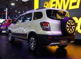 """Activ, versão """"aventureira"""" do Spin lançada no Salão do Automóvel (foto: LEXICAR)."""