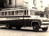 Por pouco tempo a GM ofereceu seus chassis nacionais com carroceria própria; na fotografia, ônibus rodoviário de Viçosa (MG) (fonte: Jorge A. Ferreira Jr.).