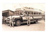Lotação Chevrolet nacional com carroceria Metropolitana operando transporte rodoviário em Minas Gerais (fonte: site jeep-reliquias).