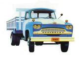 Caminhão C-6503 trazendo as alterações estéticas introduzidas em 1963.