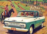Picape C-1404, belo projeto brasileiro lançado em 1964.