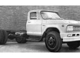 Caminhão Chevrolet C-6403 (chassi curto) de 1964.