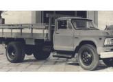 D-60, primeiro veículo diesel nacional da Chevrolet.