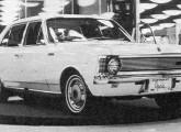 Chevrolet Opala, o primeiro automóvel brasileiro da marca, em sua estreia no VI Salão do Automóvel, em 1968 (foto: 4 Rodas).