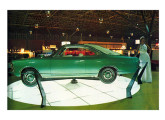 """""""Conceito"""" Las Vegas, exibido no VIII Salão do Automóvel , no final de 1972 (foto: 4 Rodas)."""
