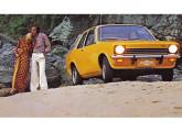 O segundo automóvel nacional da GM foi o Chevette, lançado em 1973, aqui apresentado com o Conjunto de Opções Luxo.