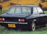 O Chevette foi lançado apenas na versão de duas portas.