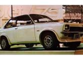 """""""Conceito"""" Chevette Monza, mostrado em 1975, no IX Salão do Automóvel (foto: 4 Rodas)."""