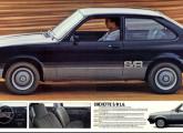 Chevette S/R 1.6, lançamento de 1981.