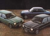 Prestes a ser reestilizado, o Chevette nada mudou em 1982.