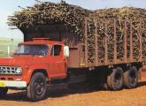 Caminhão Chevrolet D-70 6x4 canavieiro, lançamento de 1983.