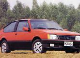 Monza S/R, com a nova grade apresentada em junho de 1985 (foto: Motor3).