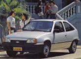 Kadett SL de três portas, importante lançamento Chevrolet no XV Salão do Automóvel.
