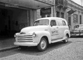 Ambulância Chevrolet 1948, montada no Brasil; o veículo pertenceu á agência de Juiz de Fora (MG) do IAPTEC - o instituto de aposentadoria e pensões dos trabalhadores em transportes (fonte: Ivonaldo Holanda de Almeida / mariadoresguardo).