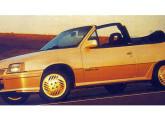 Kadett GSi de 1991- um dos raros conversíveis de série até hoje produzidos no Brasil.