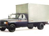 Em 1993 o caminhão leve D-40 ganhou turboalimentação, nova grade e a denominação 6000.