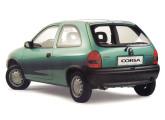 """Corsa hatch de três portas: o pequeno Chevrolet garantiu à marca um lugar na categoria dos """"populares""""."""