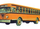 Coach Brasileiro - o ônibus urbano com motor traseiro lançado em 1951 pela GM.