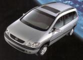 Lançado em 2001, o Zafira foi o primeiro monovolume da Chevrolet.