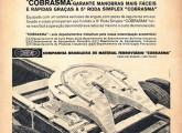 Propaganda Cobrasma de 1962 anunciando a quinta-roda de sua produção.