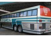Trinox de segunda geração da Viação Garcia, estacionado na rodoviária de Londrina (PR) (foto: Tadeu Carnevalli).
