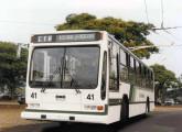 Trólebus Cobrasma na frota da CTA, de Araraquara (SP) (fonte: site trolebusbrasileiros).
