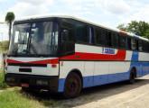 Os últimos ônibus Cobrasma tiveram a frente bastante simplificada, como este, também sobre Scania de motor dianteiro, da empresa piauiense F. Cardoso (foto: Flávio Rodrigues Silva).