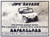 Jipe Savage - o Commander produzido pela Coperglass.