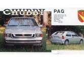 Folder de propaganda do PAG Chubby, derivado direto do Nick de quatro lugares.