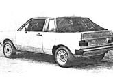 """Gol """"semiconversível"""" de 1981 (fonte: Autoesporte)."""