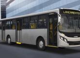 Apache Vip IV: bastante modificada, a carroceria urbana foi lançada em 2014 na Fetransrio.
