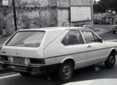 Tampa traseira em fibra de vidro para Passat de três portas, também lançamento Dacon de 1978; utilizando o vidro traseiro original, a peça transformava o hatch numa semi-station - ou num semi-furgão, dependendo do ponto de vista (fonte: Alexander Gromow / autoentusiastas).