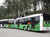 Protótipo do Dual Bus: o articulado de 23,0 m da Eletra recebeu carroceria Caio Millenium BRT.