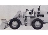 Pá carregadeira FiatAllis FR-12M, lançada em 1983.