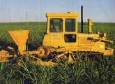 Trator agrícola de esteiras FA 120, apresentado em 1989.
