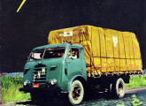 Segunda série do caminhão Fenemê, com a cabine padrão com a qual ficará mais conhecido; a imagem é de um folheto de propaganda de 1965.