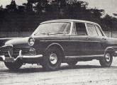 Uma versão mais esportiva do JK foi apresentada pela FNM no III Salão do Automóvel (fonte: Mecânica Popular).