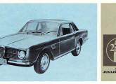 Segunda versão do GT Onça em folheto do V Salão do Automóvel.