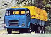 Lançada em 1972, a nova geração de caminhões FNM contava com seis versões; na imagem, o modelo 180 N3.