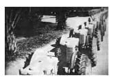 Tratores Fiat montados pela FNM entre 1954 e 55 (fonte: Eduardo Nazareth Paiva).