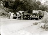 Rara imagem de um FNM-Isotta em operação; a fotografia é de fevereiro de 1952 (fonte: Arquivo Público do Estado de São Paulo).